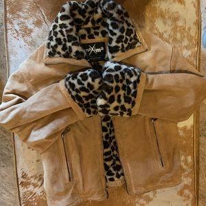 Wilsons Maxima Genuine Leather Jacket & Faux Fur